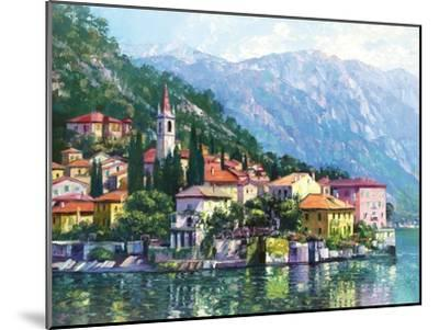 Reflections of Lake Como-Howard Behrens-Mounted Premium Giclee Print