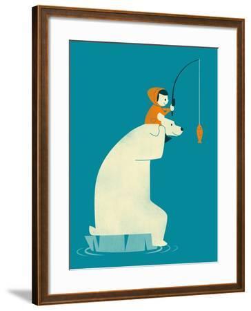 Dinner for Two-Jay Fleck-Framed Art Print