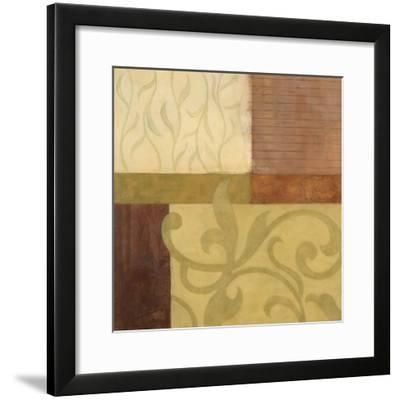 Garden Terrace I-Glenys Porter-Framed Art Print