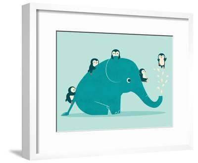 Waterslide-Jay Fleck-Framed Art Print