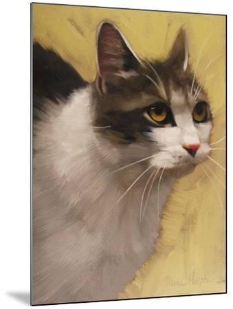Derby Cat-Diane Hoeptner-Mounted Art Print