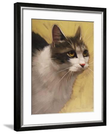 Derby Cat-Diane Hoeptner-Framed Art Print