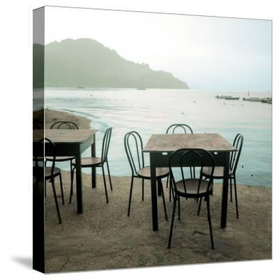 Atrani Caffe #6-Alan Blaustein-Stretched Canvas Print
