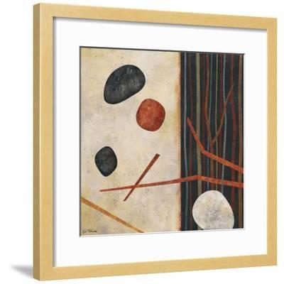 Sticks and Stones II-Glenys Porter-Framed Art Print