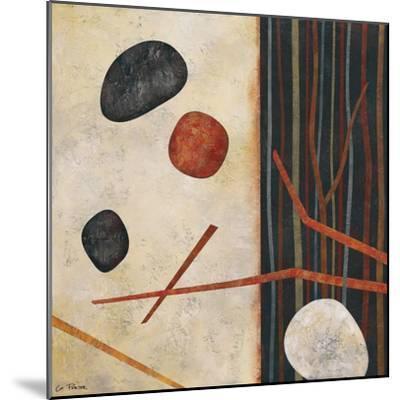 Sticks and Stones II-Glenys Porter-Mounted Art Print