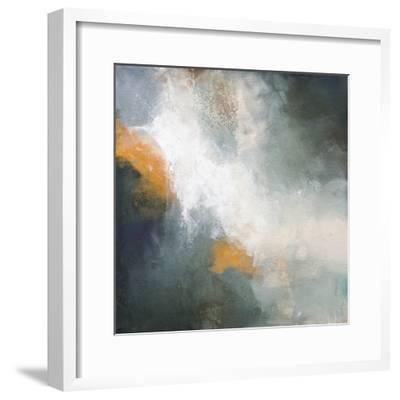 Through The Mist-Karen Hale-Framed Art Print