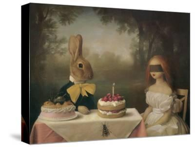 A Guess Is as Good as the Wish-Stephen Mackey-Stretched Canvas Print