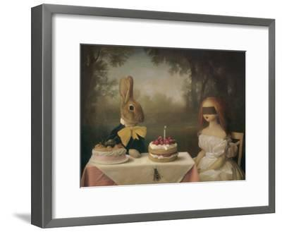 A Guess Is as Good as the Wish-Stephen Mackey-Framed Art Print