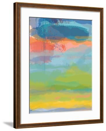 Coral Sky-Jan Weiss-Framed Art Print