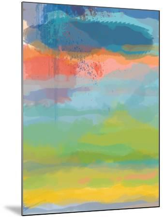 Coral Sky-Jan Weiss-Mounted Art Print