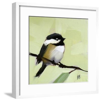 Chickadee No. 143-Angela Moulton-Framed Art Print