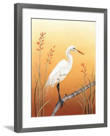 Warm Sky-Christine Reichow-Framed Art Print