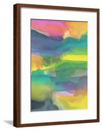 Distressed Landscape 1-Stephanie Pryor-Framed Art Print