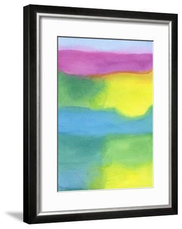 Distressed Landscape 4-Stephanie Pryor-Framed Art Print
