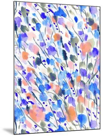 Wild Nature Blue-Jacqueline Maldonado-Mounted Art Print