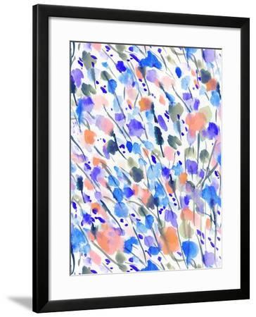 Wild Nature Blue-Jacqueline Maldonado-Framed Art Print