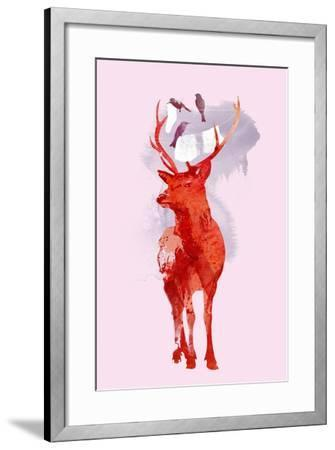 Useless Deer-Robert Farkas-Framed Art Print
