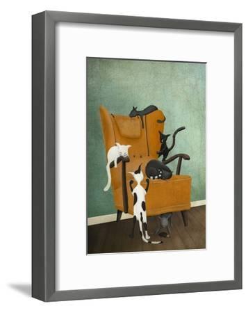 Catlife-Maja Lindberg-Framed Art Print