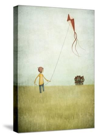 Kite Runner-Maja Lindberg-Stretched Canvas Print