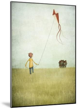 Kite Runner-Maja Lindberg-Mounted Art Print