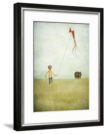 Kite Runner-Maja Lindberg-Framed Art Print