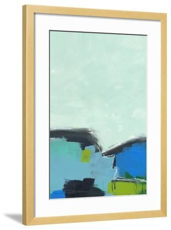 Landscape No. 98-Jan Weiss-Framed Art Print