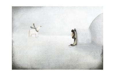 The Igloo-Maja Lindberg-Framed Art Print