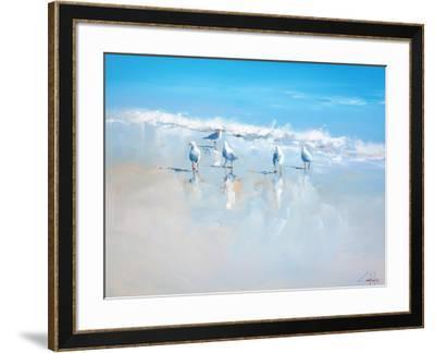 Sorrento Gulls-Craig Trewin Penny-Framed Premium Giclee Print
