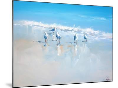 Sorrento Gulls-Craig Trewin Penny-Mounted Premium Giclee Print