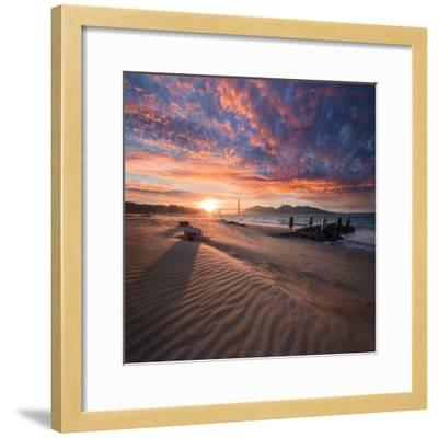 Composed-Dave Gordon-Framed Photographic Print