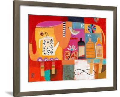 Colorful Elephant-Nathaniel Mather-Framed Art Print