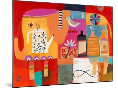 Colorful Elephant-Nathaniel Mather-Mounted Art Print