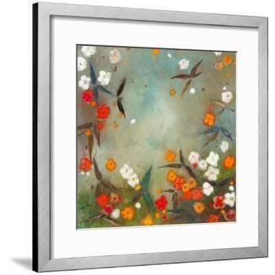 Gardens in the Mist VII-Aleah Koury-Framed Art Print