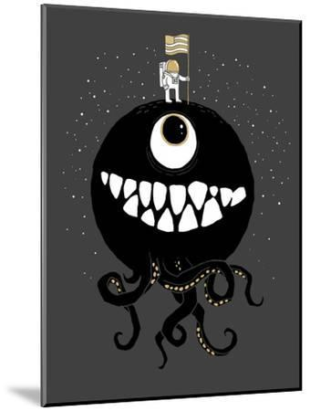 Space Oddity-Michael Buxton-Mounted Premium Giclee Print