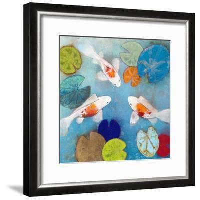 Koi 2-Aleah Koury-Framed Art Print
