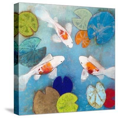 Koi 2-Aleah Koury-Stretched Canvas Print