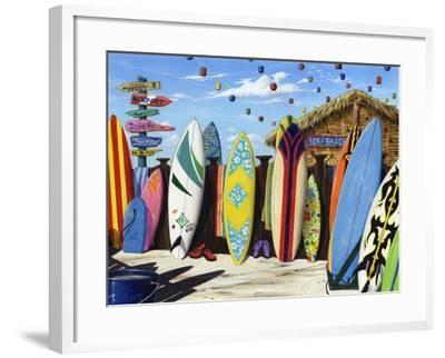 Surf Shack-Scott Westmoreland-Framed Art Print