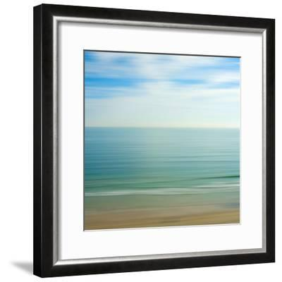 Seacoast 17-David E Rowell-Framed Art Print