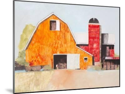 Barn No. 3-Anthony Grant-Mounted Art Print