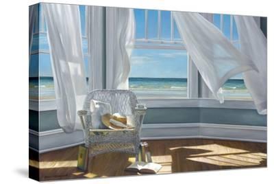 Gentle Reader-Karen Hollingsworth-Stretched Canvas Print