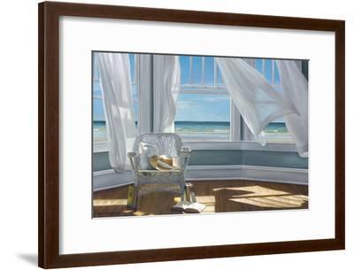 Gentle Reader-Karen Hollingsworth-Framed Premium Giclee Print