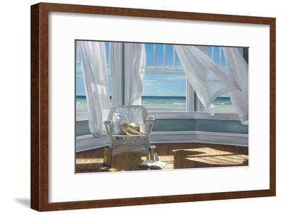 Gentle Reader-Karen Hollingsworth-Framed Art Print