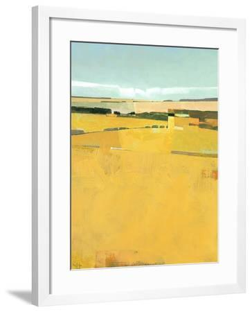 Fence Lines and Fields-Greg Hargreaves-Framed Art Print