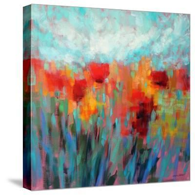 Shimmering-Claire Hardy-Stretched Canvas Print