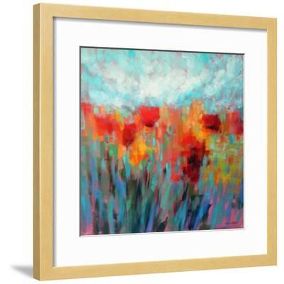 Shimmering-Claire Hardy-Framed Art Print