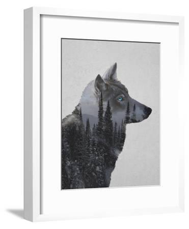 Winter Wolf-Davies Babies-Framed Art Print