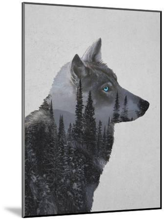 Winter Wolf-Davies Babies-Mounted Art Print