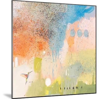 Hummingbird at Home 1-Anthony Grant-Mounted Art Print