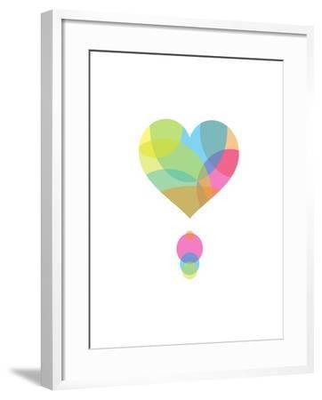 Colors of a Heart-Volkan Dalyan-Framed Art Print