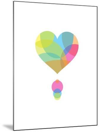 Colors of a Heart-Volkan Dalyan-Mounted Art Print